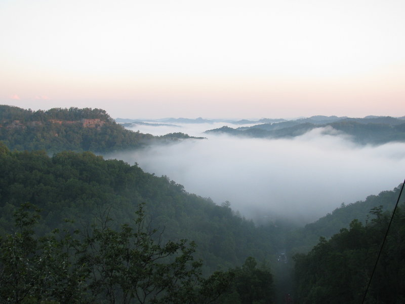 View from Natural Bridge