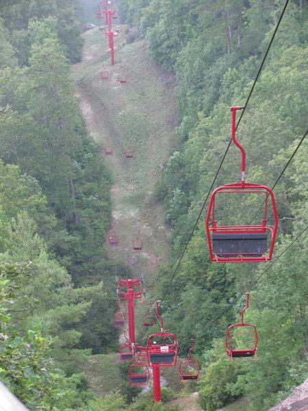 Skylift at Natural Bridge