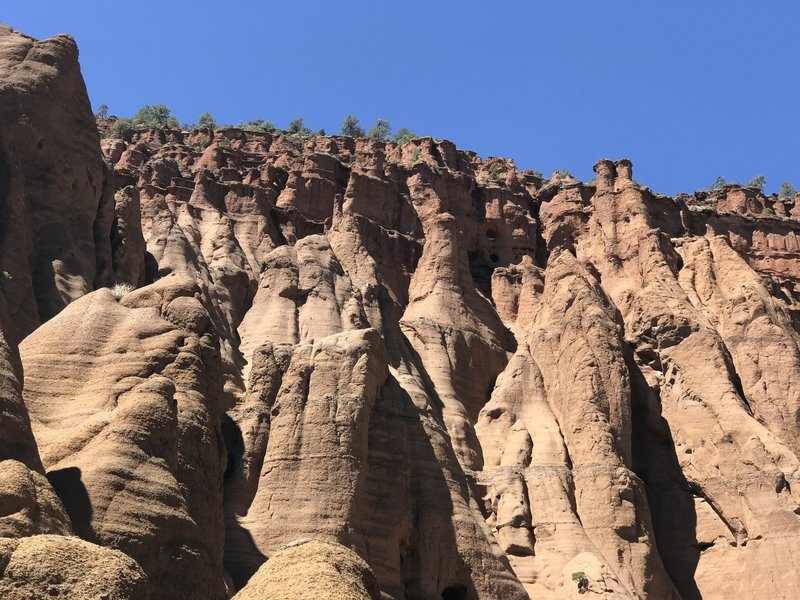 Hoodoos at the end of Red Mountain Trail