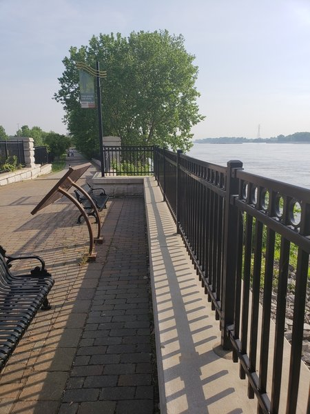 Outlook to Mississippi River
