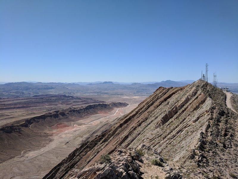 Top of Frechman Mountain, near the geocache