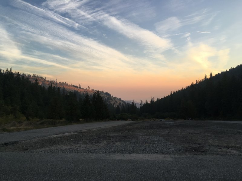 Sunset over Squilchuck State Park