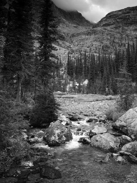 Crossing Sprague Creek