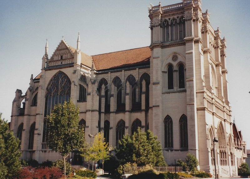 Cathedral Basilica of the Assumption.