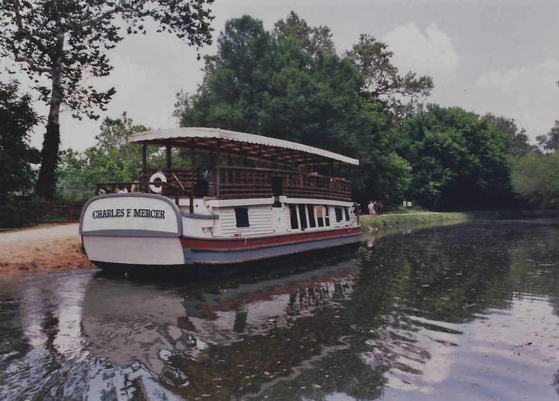 One of the historic boats