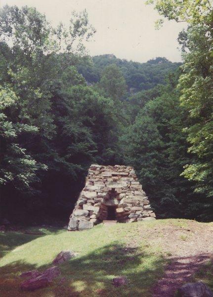 Old furnace ruins