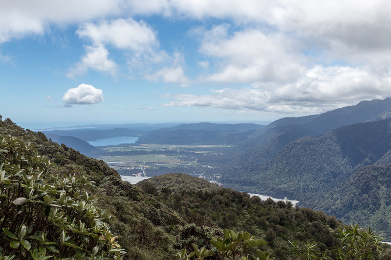Westerly view from Alex Knob Track