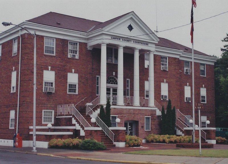 Carter County courthouse, Elizabethon