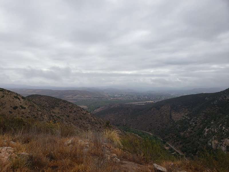 Top of South Fortuna summit views