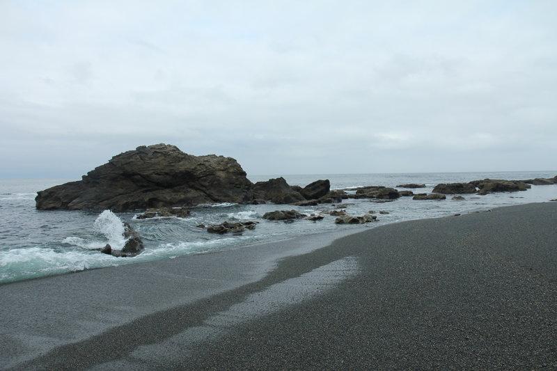 East Sombrio Beach, on JDF Trail