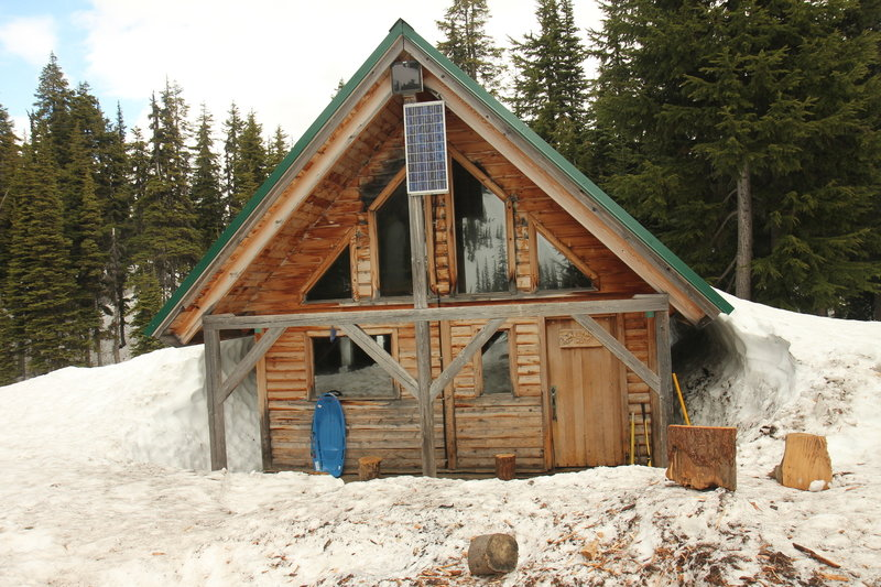 Keith's Hut on Cerise Creek Winter Route