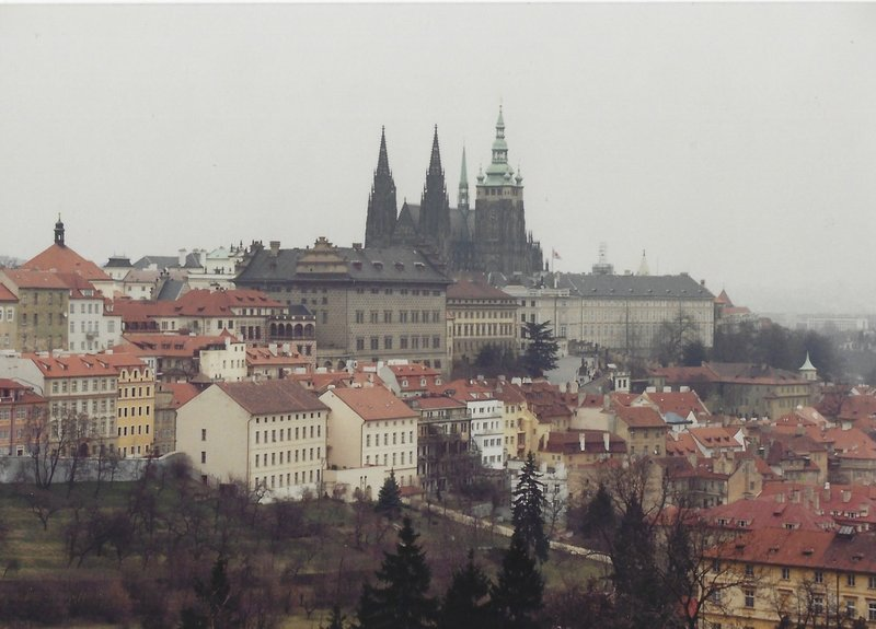 Castle Hill and St Vitius cathedral