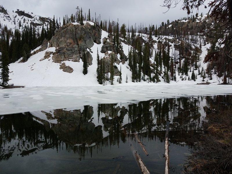 Jennie Lake reflections