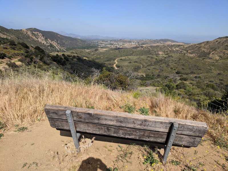 Two miles from the Lang Ranch neighborhood is a great place to enjoy the view looking west.