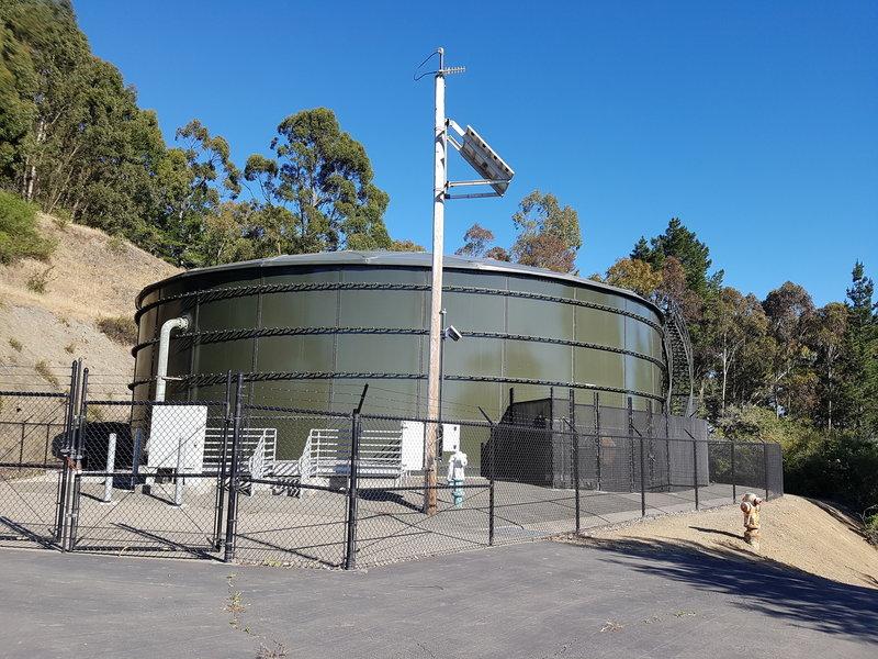 EBMUD Water Tank