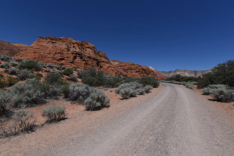 West Canyon road