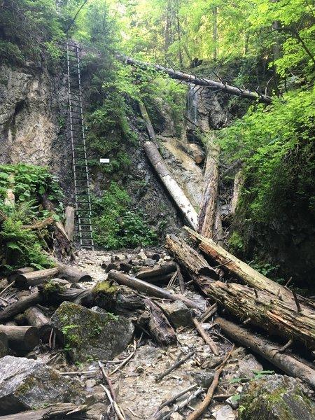 Monastery Gorge waterfall
