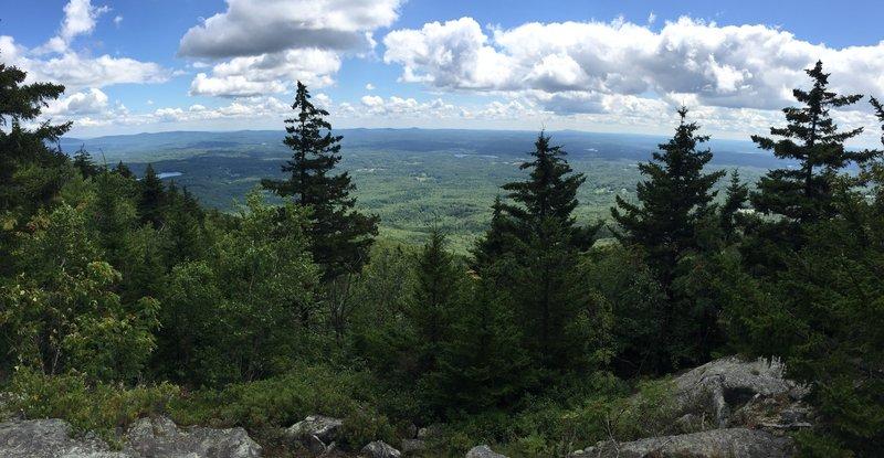 Last lookout descent
