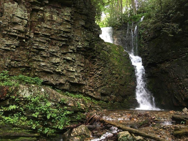 Upper Rock Creek Falls