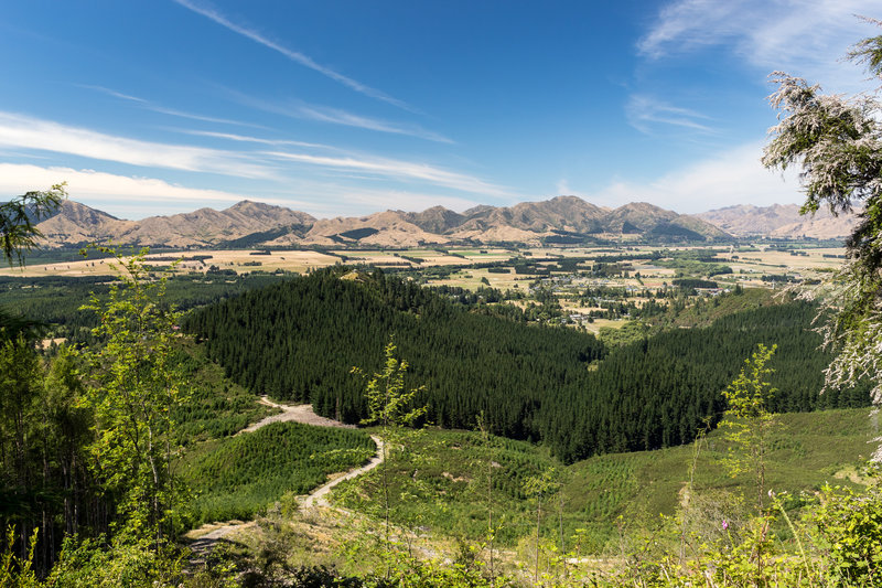 Hanmer Springs and Hanmer Forest Park