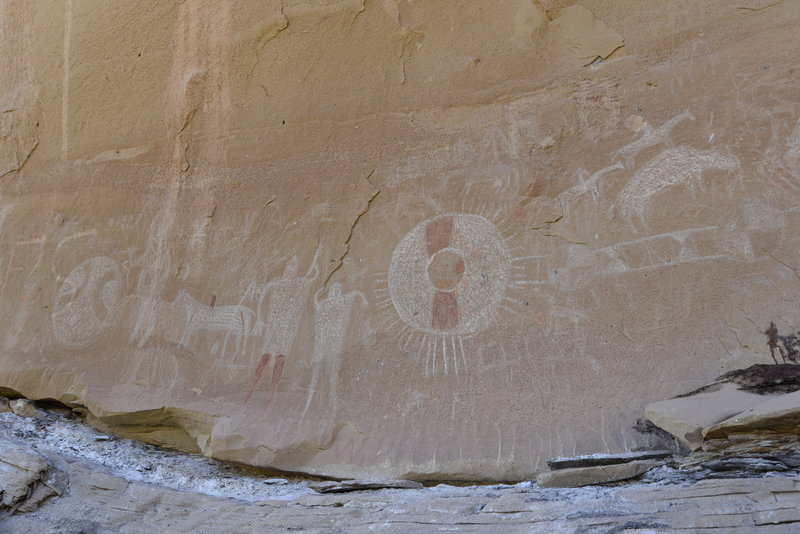 A closer look of pictographs