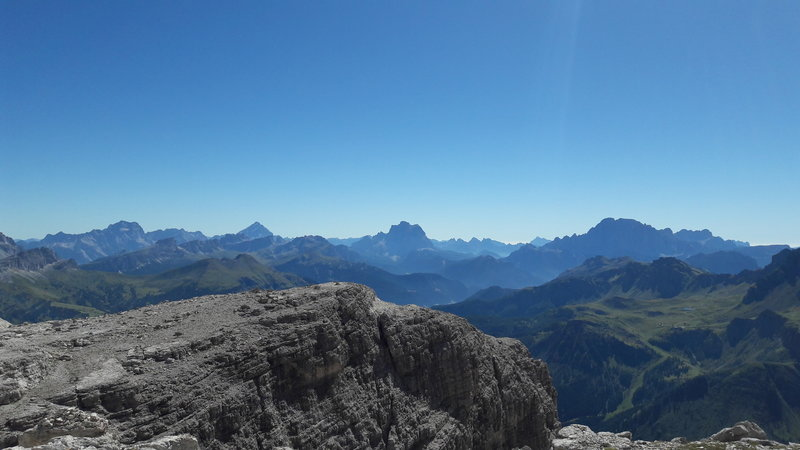 Val Gardena - View from trail