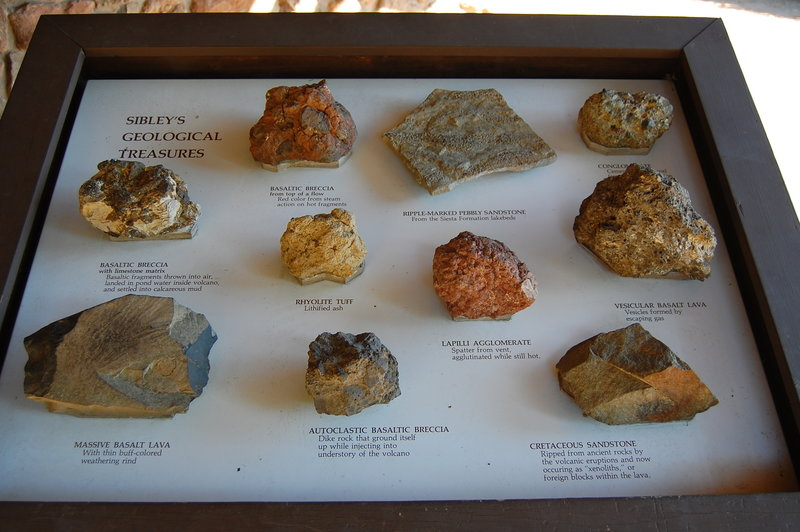 Sibley's Geological Treasures