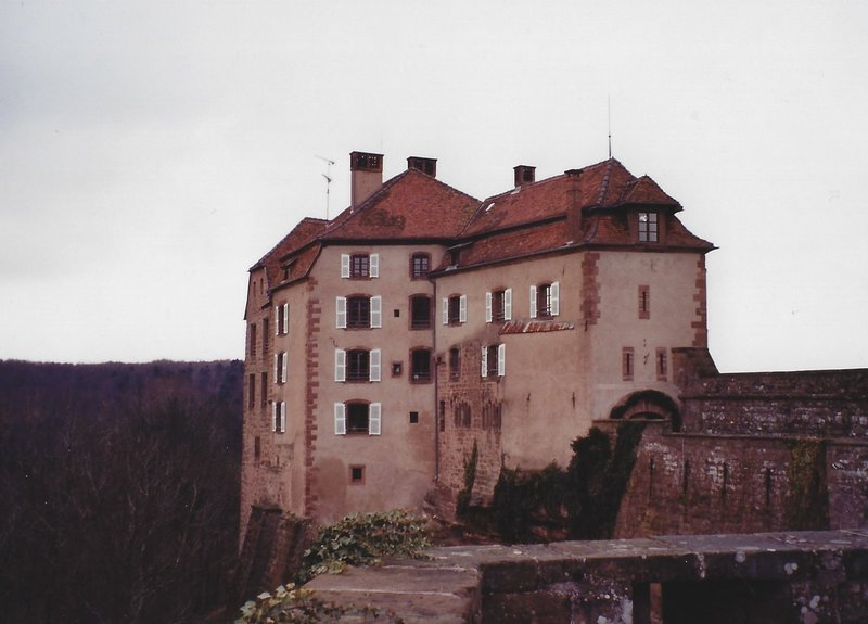 La Petite Pierre, the castle