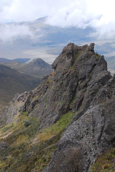 Near the Peak of Rumiñahui