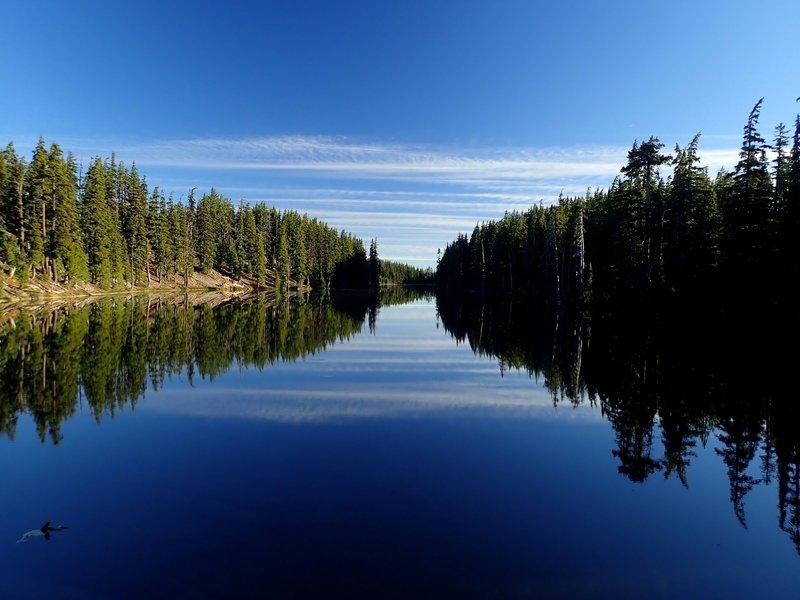 Alta Lake in early morning