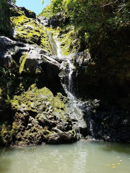 Upper falls pool