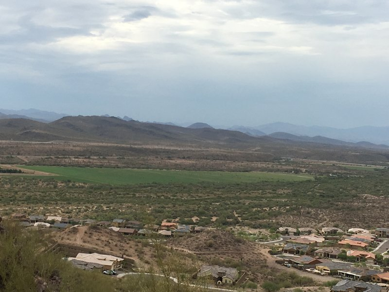 Looking Southeast from Calderwood Butte
