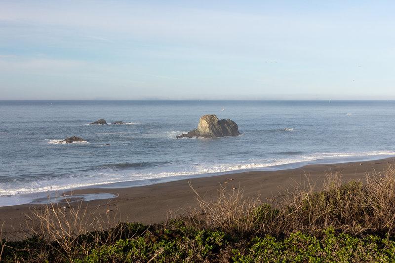 Wright's Beach from Kortum Trail