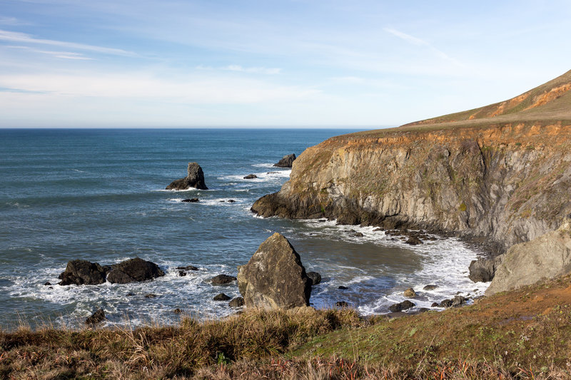 Cliffs within Sonoma Coast State Park