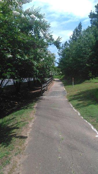 Bridge heading toward RTP