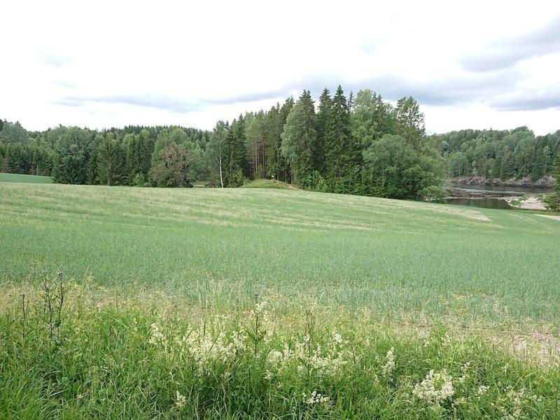 View from Langnesveien towards Langnesstien