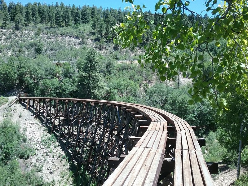 View of the trestle