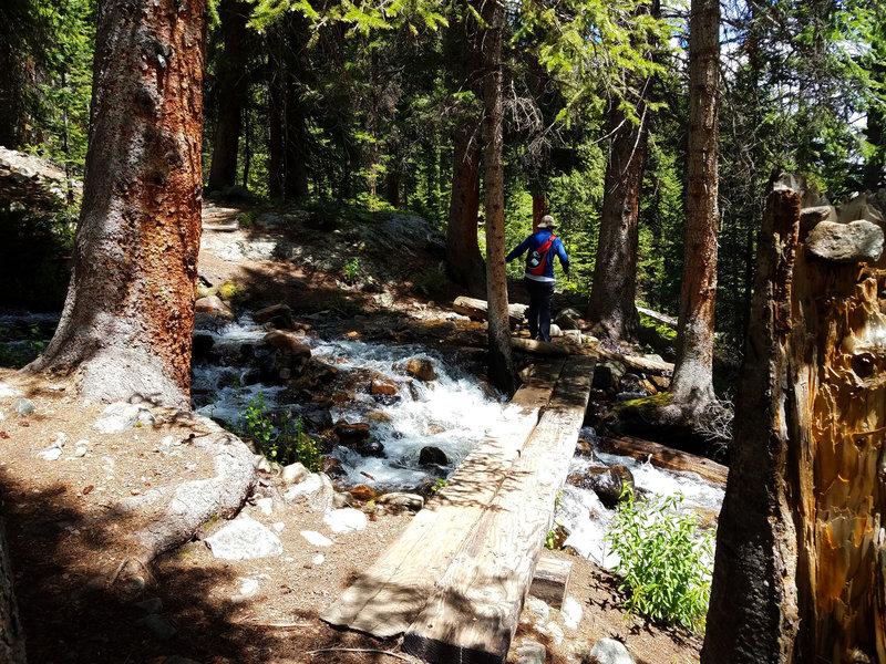 Lower stream crossing