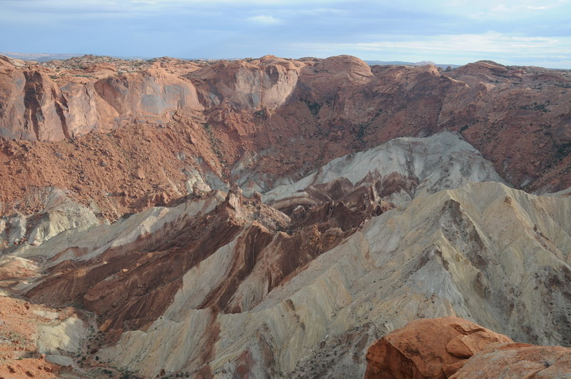 Upheaval Dome from the overlook