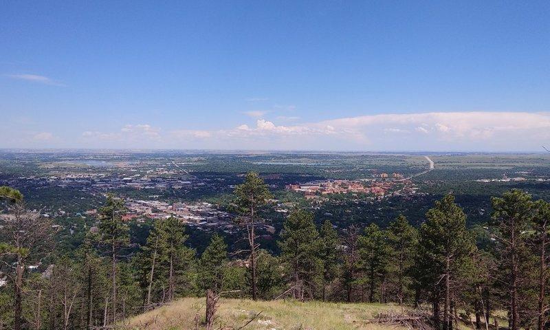 Looking towards Boulder