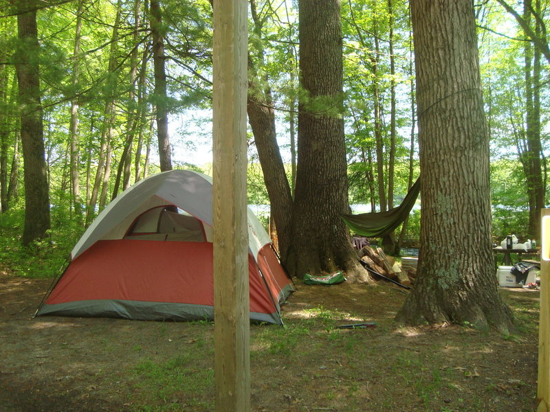 Ely Lake County Campground in Allegan State Game Area