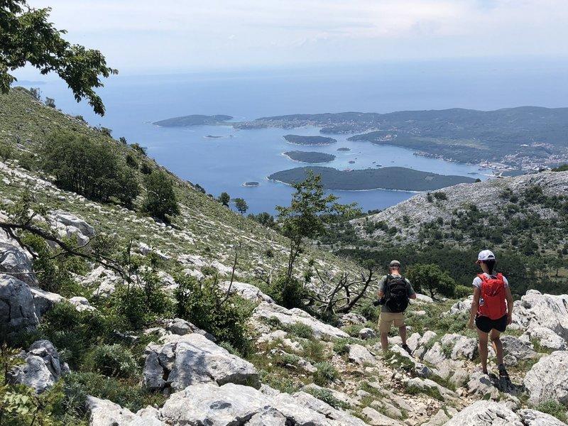 Near the summit Sveti Ilaji