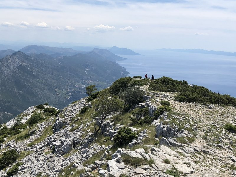 Bonus hiking on the ridge past Sveti Ilaji