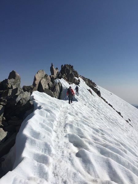 Summit Ridge, Gannet Peak, WY