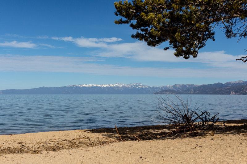 Lake Tahoe from Keys Beach