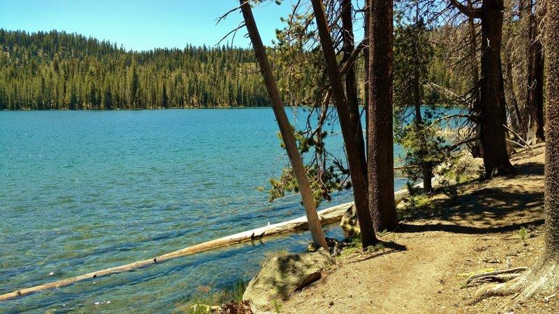 Upper Twin Lake along Echo Lake/Twin Lakes Trail
