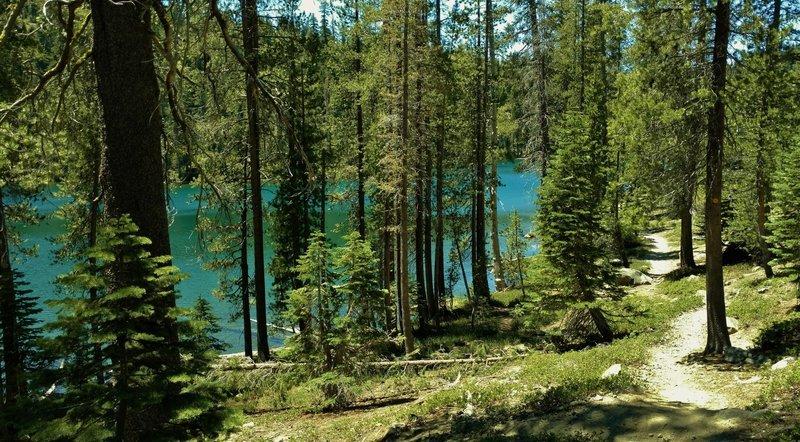Echo Lake along Echo Lake/Twin Lakes Trail