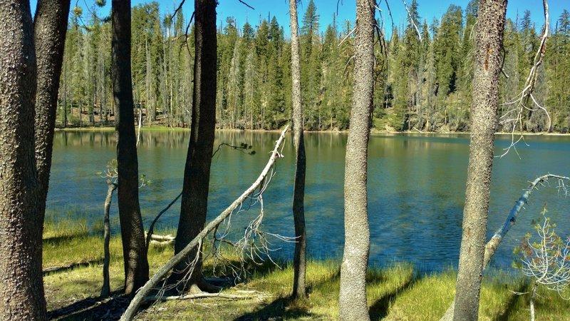 Little Bear Lake along Bear Lakes Trail.