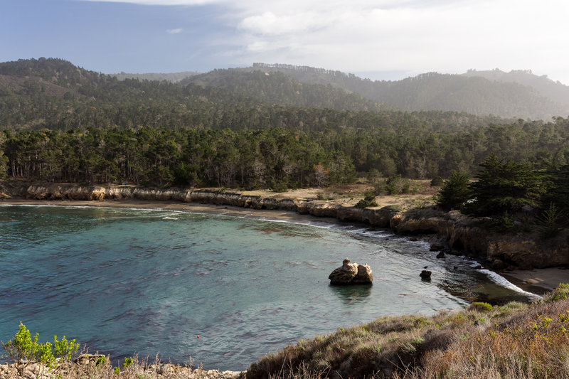 Whaler's Cove from North Shore Trail