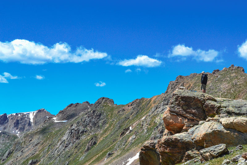 Exceptional views of Lost Man Basin await adventurous hikers that make the journey to Lost Man Lake.